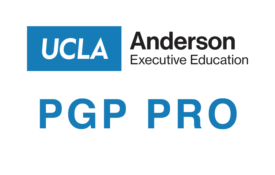 UCLA PGP PRO Workshop 1: Strategy, Leadership and Careers